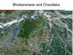 bhubaneswar and chandaka