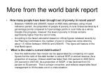 more from the world bank report