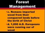 forest management1