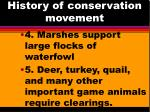 history of conservation movement2