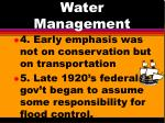 water management2