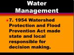 water management4