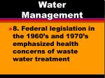 water management5