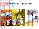 el producto y la publicidad2