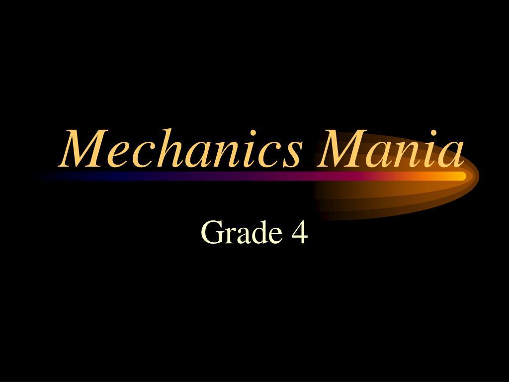 mechanics mania l.
