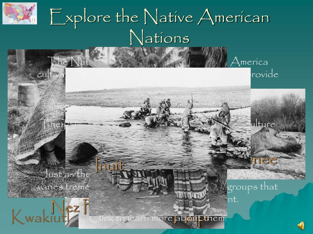 explore the native american nations l.