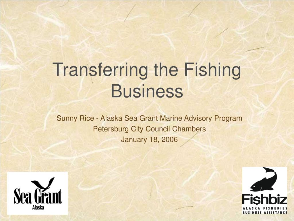 transferring the fishing business l.