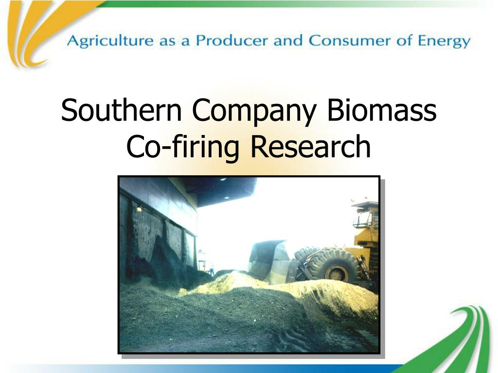 southern company biomass co firing research l.