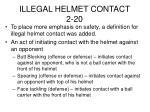illegal helmet contact 2 20