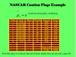 nascar caution flags example13
