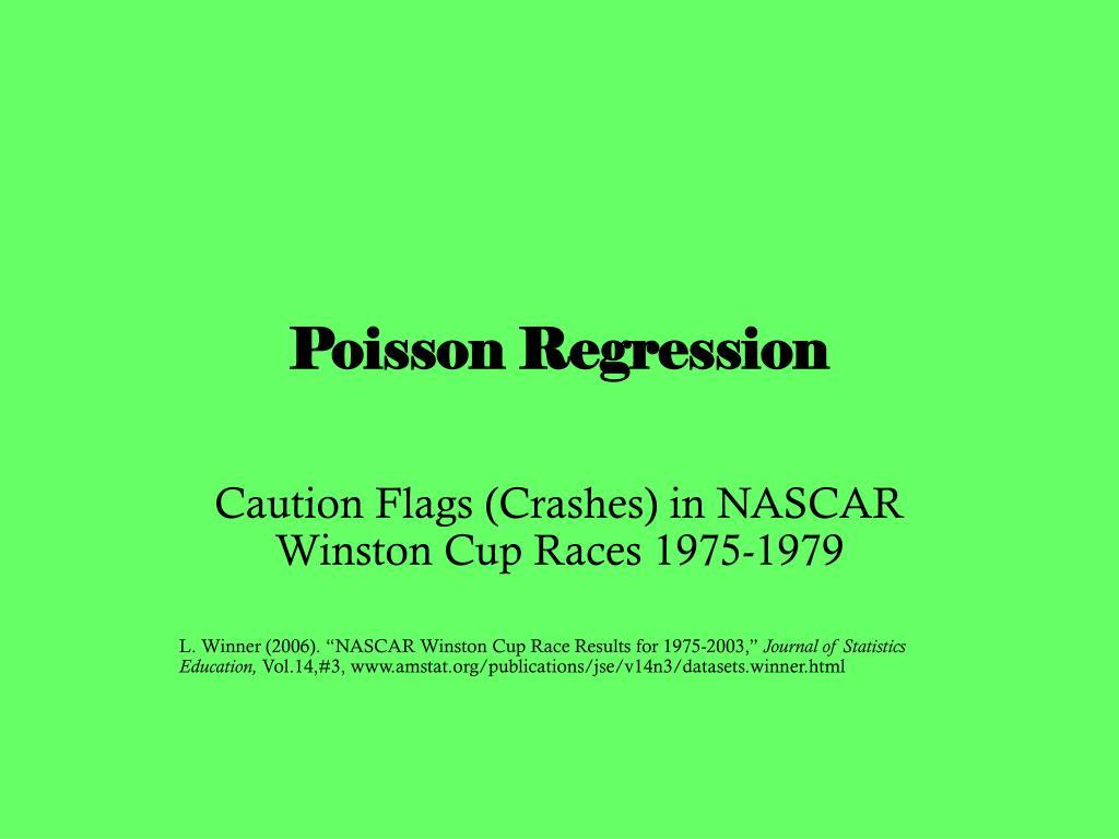 poisson regression l.