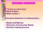 consumer behaviour22
