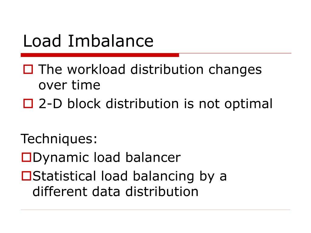Load Imbalance