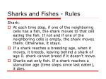 sharks and fishes rules3