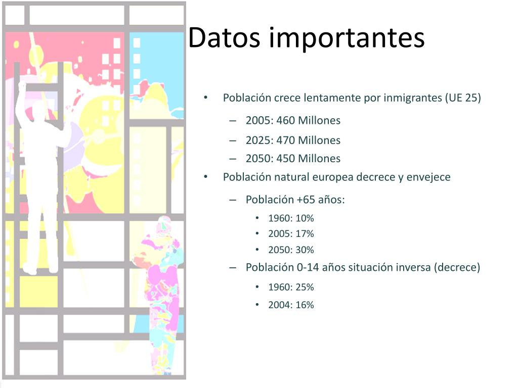 Datos importantes