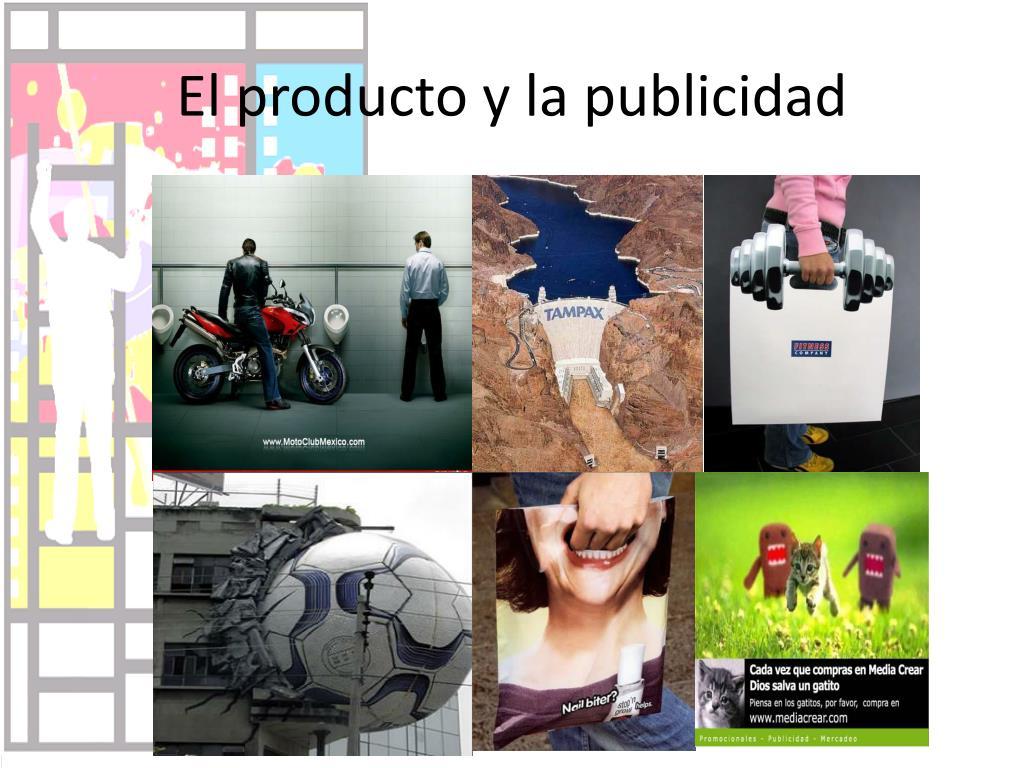 El producto y la publicidad