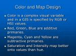 color and map design