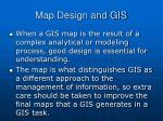 map design and gis