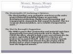 money money money financial feasibility