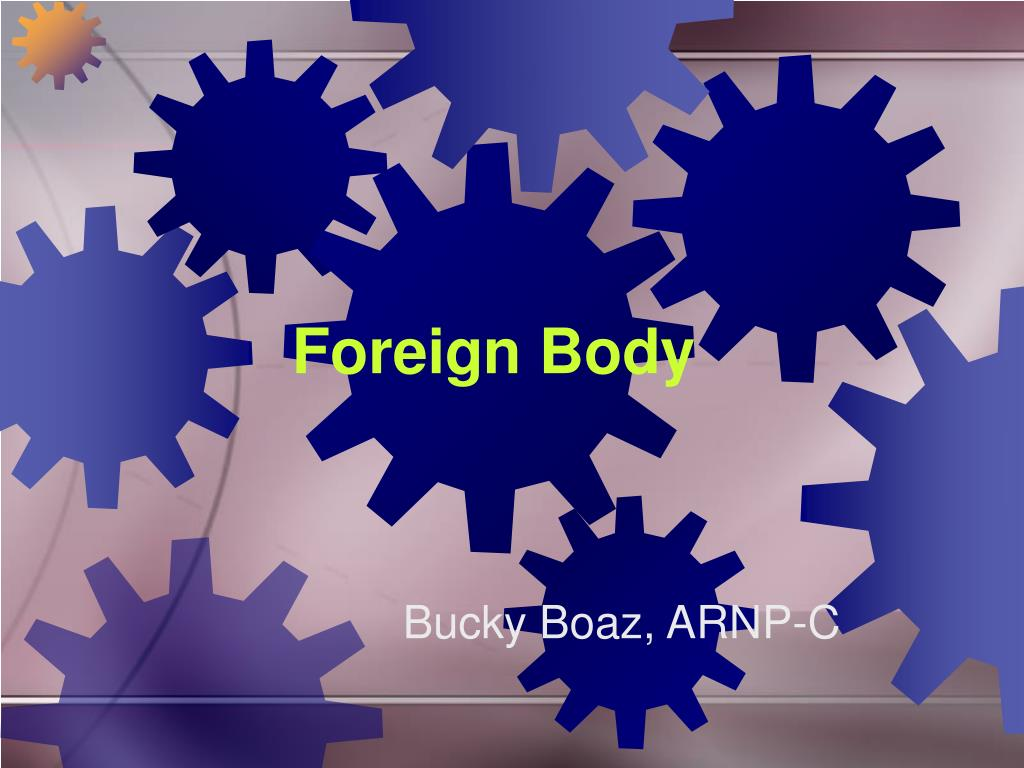 foreign body l.