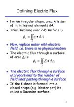 defining electric flux