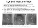 dynamic mask definition