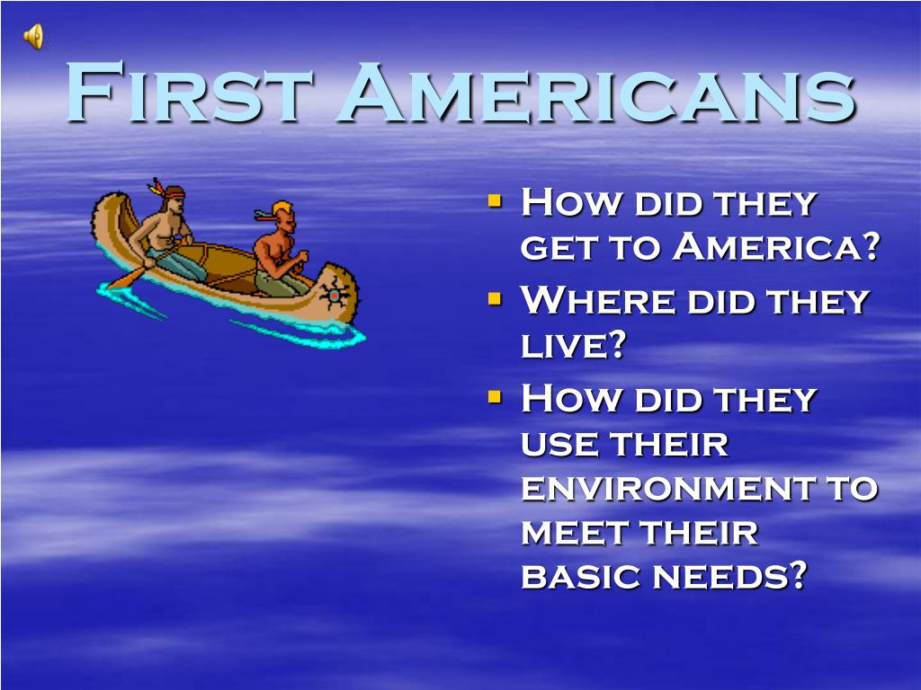 first americans l.