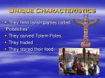 unique characteristics45