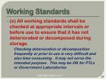 working standards28