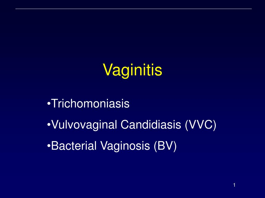 vaginitis l.