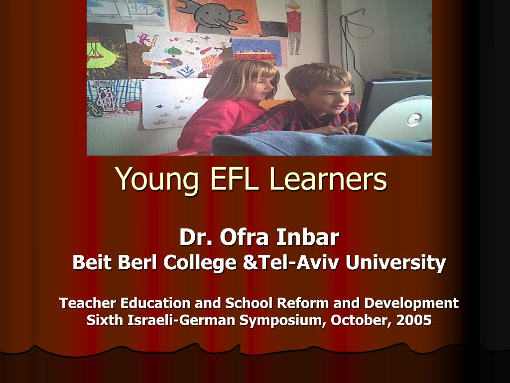 young efl learners l.