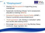 4 employment