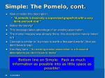 simple the pomelo cont