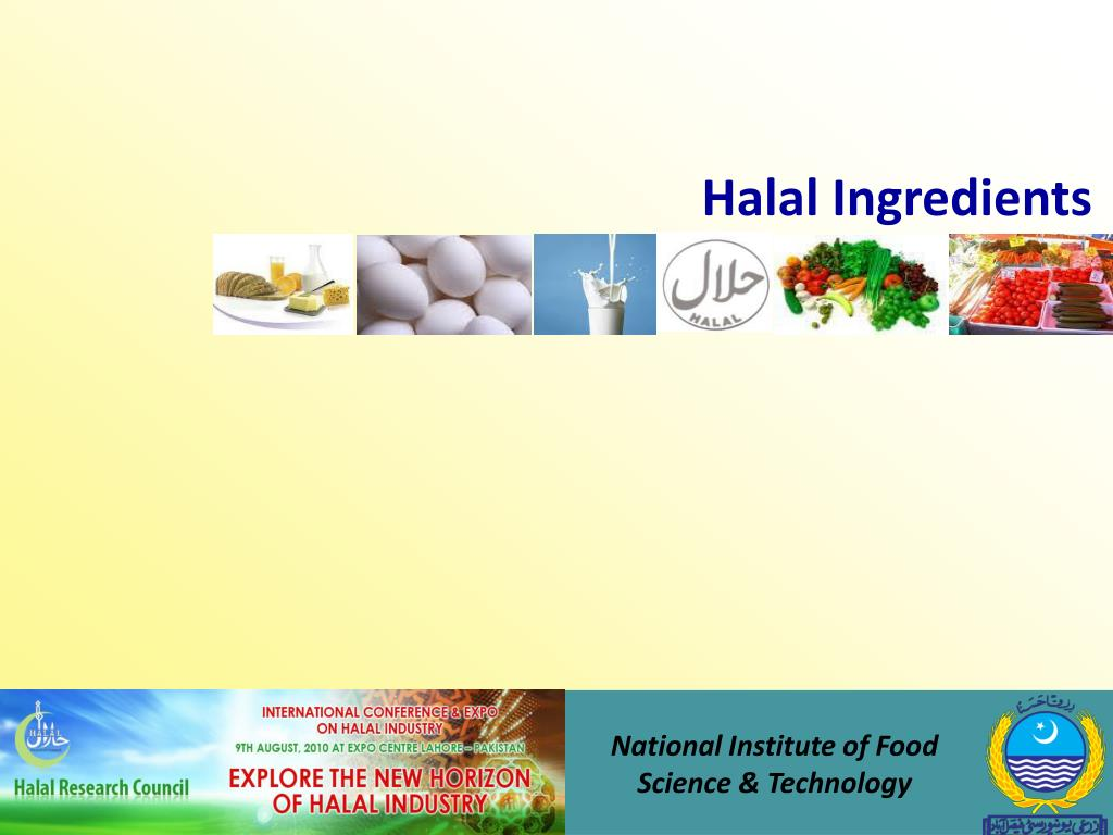Halal Ingredients