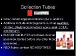 collection tubes