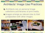 architects image use practices