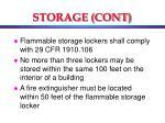 storage cont