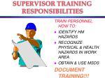 supervisor training responsibilities38