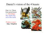 daniel s vision of the 4 beasts