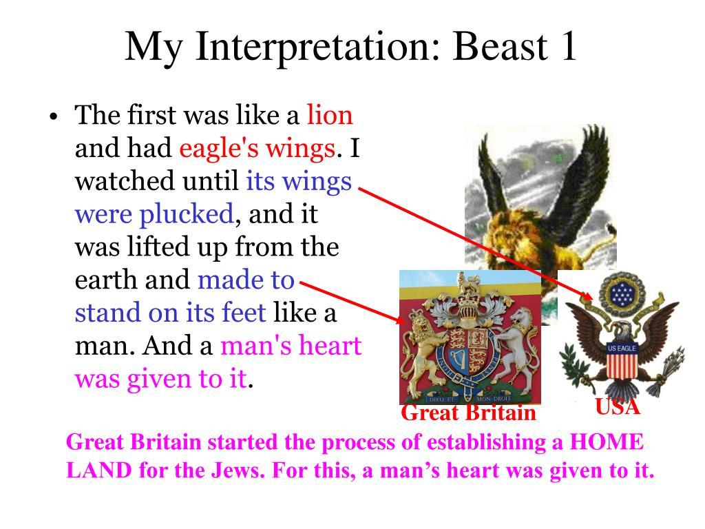 My Interpretation: Beast 1