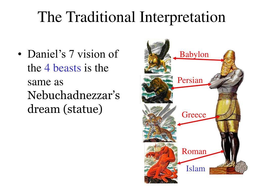 The Traditional Interpretation