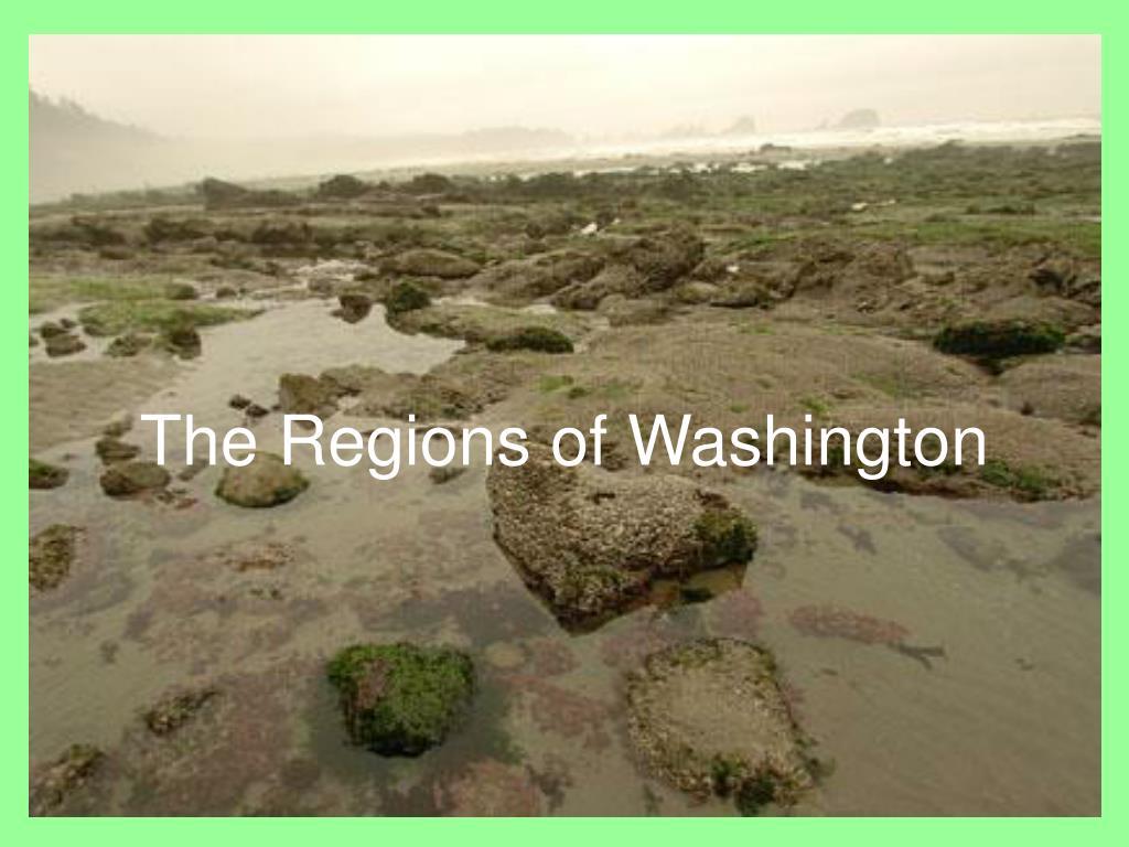 the regions of washington l.
