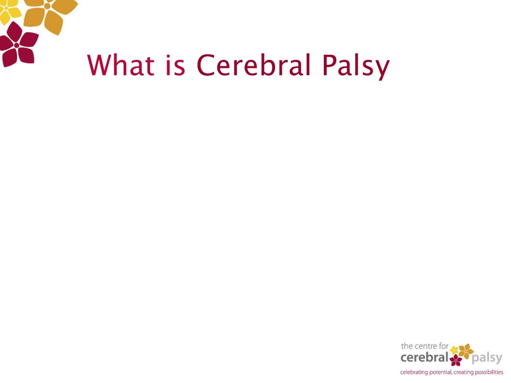 what is cerebral palsy l.