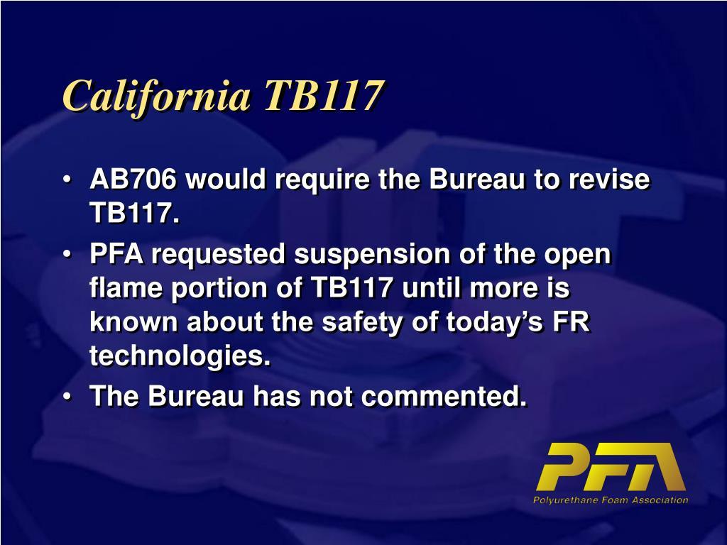 California TB117