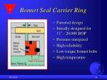 bonnet seal carrier ring16