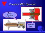 compact mpl operator