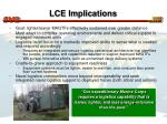 lce implications