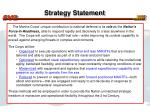 strategy statement