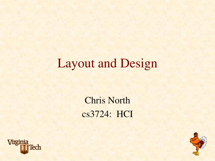 layout and design n.