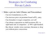 strategies for combating private labels8